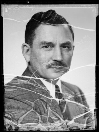 Mr. Collier, Southern California, 1935