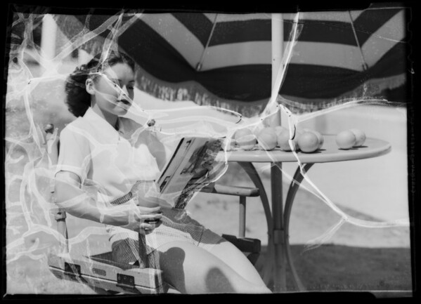 Granada Hills publicity, Los Angeles, CA, 1936