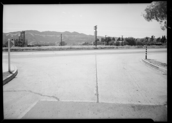 Intersection of San Fernando Road & Vine Street, Glendale, CA, 1935