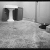 Mens' Rest Room at Green Meadows Theatre, 9615 South Main Street, Los Angeles, CA, 1940