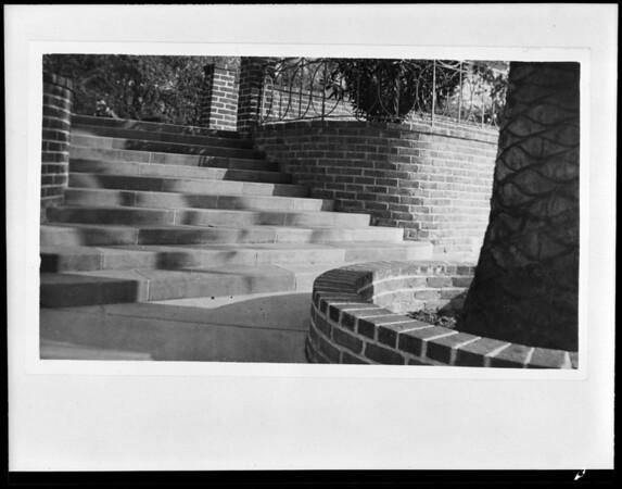Pool at Hotel Vista del Arroyo, Pasadena, CA, 1940