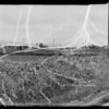 Panoramic view of intersection of National Boulevard and South Sepulveda Boulevard, Los Angeles, CA, 1936