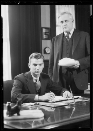 Boy President, Boy's week, Southern California, 1935