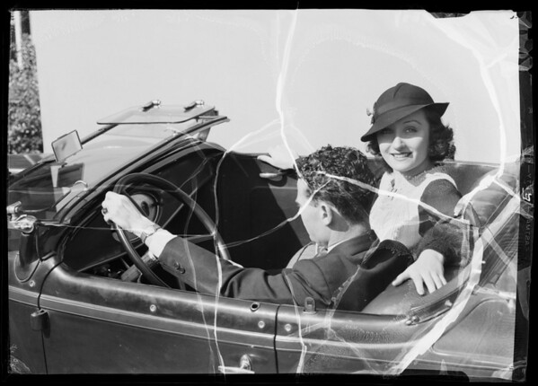 """Just the car we wanted"", Southern California, 1936"