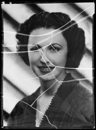 Portrait, Gloria La Mar, Southern California, 1935