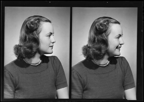 Loki Stickel, Southern California, 1940