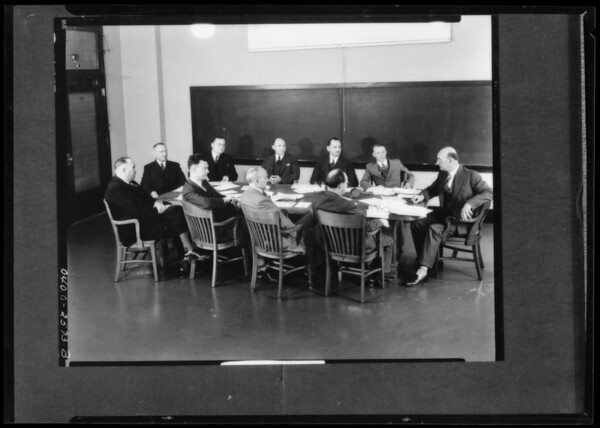 RPM visomatic lecture, Southern California, 1936