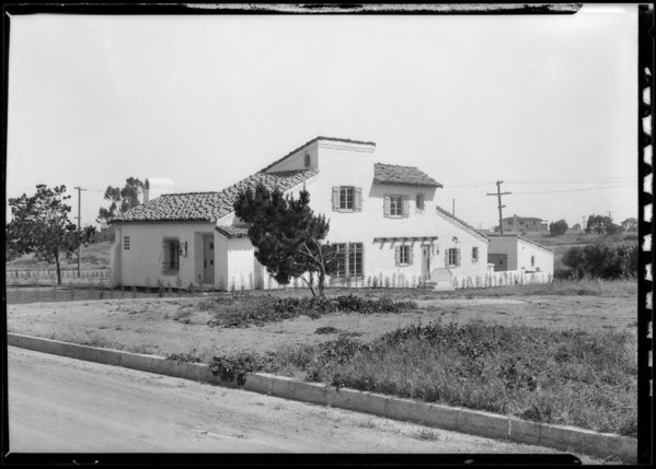 Home, 141 North Carmelina Avenue, Brentwood, Los Angeles, CA, 1927