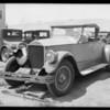 Wrecked Pierce-Arrow, Southern California, 1927