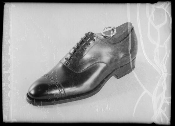 Shoe, Southern California, 1935
