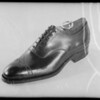Shoe, Southern California, 1935