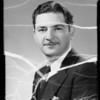 Mr. Bennett, announcer, Southern California, 1935