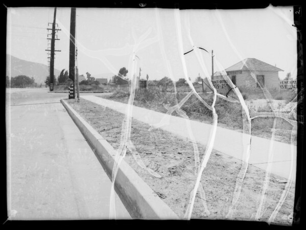 Intersection of West Alameda Avenue and South Victory Boulevard, Burbank, CA, 1935