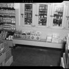 Bench in front of refrigerator at Safeway store, 1257 North Western Avenue, Los Angeles, CA, 1940