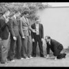 Activities at club, Southern California, 1935