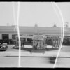 Service station at 6450 Sunset Boulevard, Los Angeles, CA, 1935