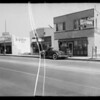 Street photo in front of 21318 South Alameda Street, American Auto Co., assured, Carson, CA, 1935