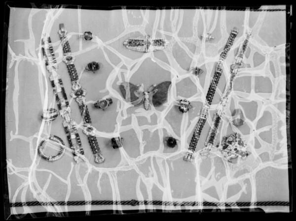 Jewelry, Southern California, 1935