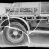 Truck at Mullin Lumber Co., Southern California, 1935