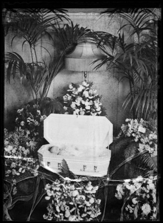 Baby Horsford (deceased), Southern California, 1935