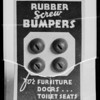 Rubber bumpers, Southern California, 1936