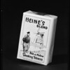 Package of Heine's Blend, Southern California, 1940