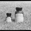 Two bottles of grass tablets, Southern California, 1940