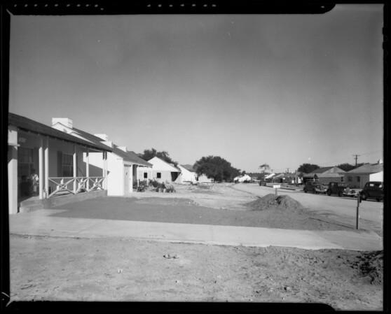 Scenes in Santa Anita vista, Arcadia, CA, 1940
