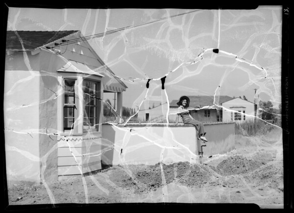 San Fernando Valley real estate publicity, Southern California, 1936
