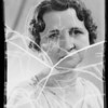 Portrait of Mrs. Meyers, Southern California, 1935