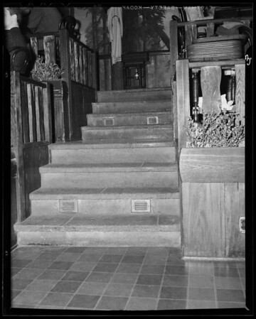 Steps in Clifton's Brookdale, 648 South Broadway, Los Angeles, CA, 1940