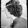 Girls heads, Nourishine, Southern California, 1936