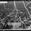 Crowds at Coliseum, Los Angeles, CA, 1935