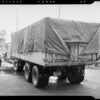 Rear view of Albuquerque Express #37, Southern California, 1940