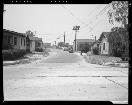 Blake Avenue, between Denby Avenue and Knox Avenue, Los Angeles, CA, 1940