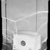Radios and washing machine, Southern California, 1936