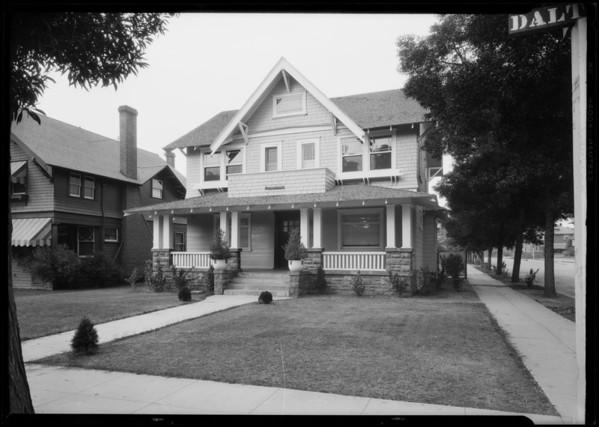 Home, 2703 Dalton Avenue, Los Angeles, CA, 1926