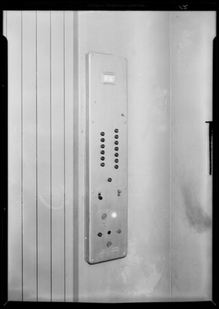 County Hospital, Otis Elevator Co., Los Angeles, CA, 1932