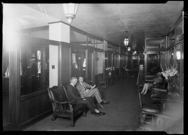 Interior shots, Realty Assurance Corporation, 311 Financial Center Building, Southern California, 1929