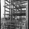 Construction of new County Hospital, Los Angeles, CA, 1929