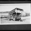 Copy of passenger truck at Boulder City, 185 men aboard, Nevada, 1935