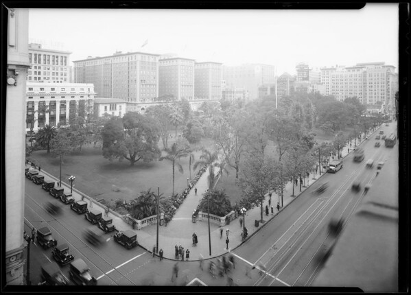 Pershing Square, 532 South Olive Street, Los Angeles, CA, 1930