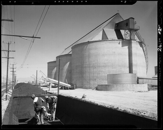 Views of plant, Southern California, 1940