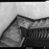 Stairway in apartment house at 632 South Bixel Street, Los Angeles, CA, 1940
