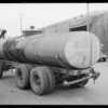Tank trailer, Southern California, 1935