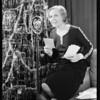 Velva Darling at microphone, Southern California, 1930