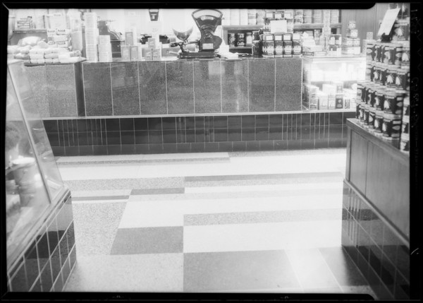 Grocery department, May Co., Daugherty Vs. May Co., Southern California, 1934