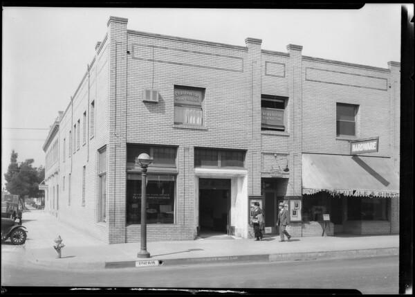 Huntington Park branch, Pacific Southwest Bank, Huntington Park, CA, 1924