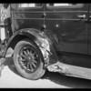 Wrecked Chrysler, E. A. Bensfield, Southern California, 1930