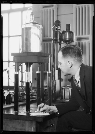 Hydrometer tests of triton & sludge from other oils, Southern California, 1935